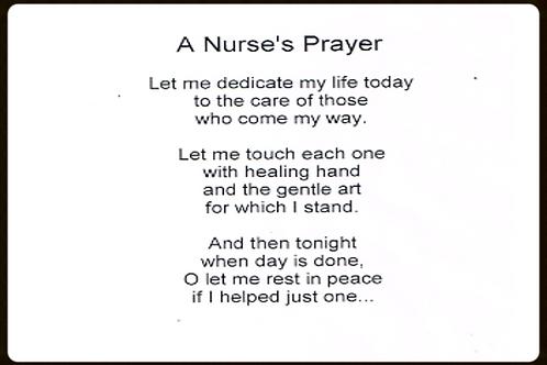 A Nurses Prayers