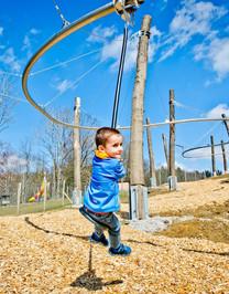 Spielplatz Fly- Line Natternbach