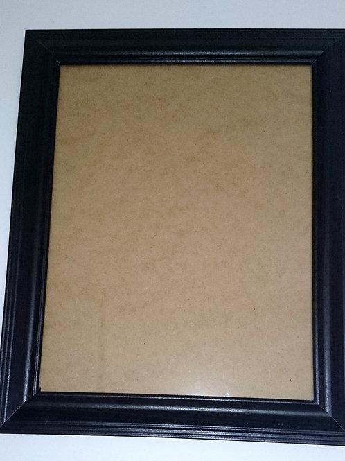 Black 8.5 x 11 Frame