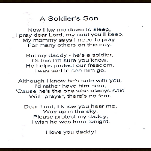 A Soldiers Son