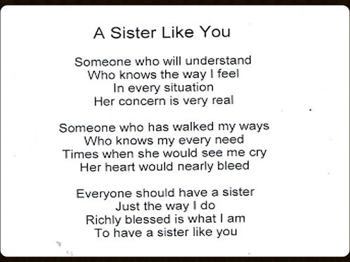 A Sister Like You