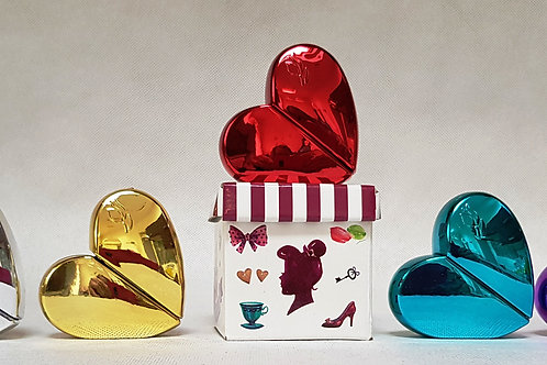 28ml Heart shaped Bottle with gift box