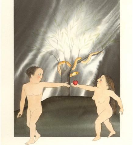 Biblia, Adam i Eva al paradís