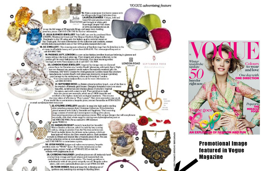 PROMOTIONAL IMAGE FEATURED IN VOGUE