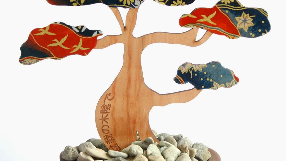 UNDER THE SHADE OF BONSAI TREE