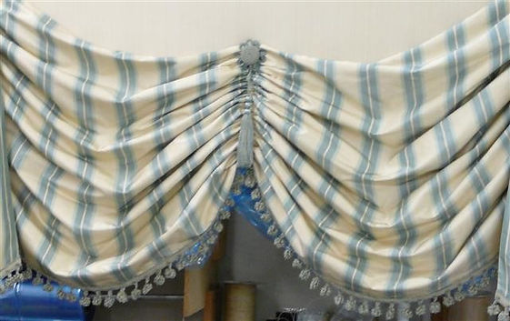 Austrian Type Valance with Detail