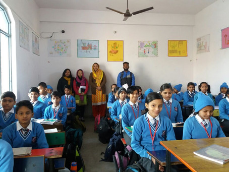 """Unity Among Diversity"""", A Teacher Responded Saying That Our Students Come Across All Lingual.."""