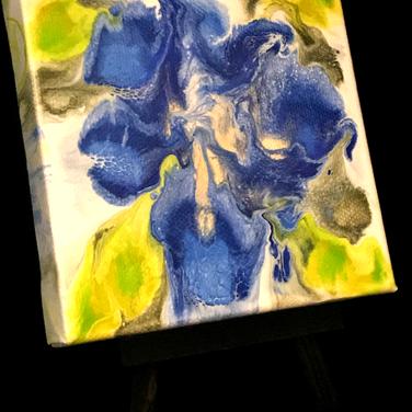 Iris on Easel