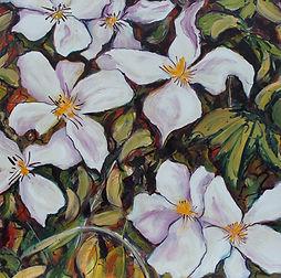 Mim Aylett Art Flowers