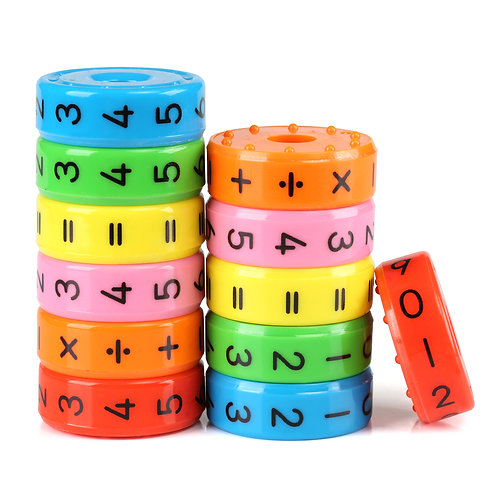 Kesote Magnetic Arithmetic Learning Toy, Cube Mathematical Magnetic Educational