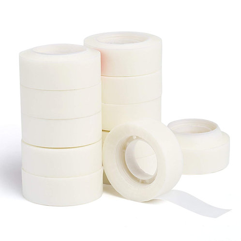 Kesote Magic Invisible Tape Refill Roll, Office School Home Use, 19mm×33mm Trans