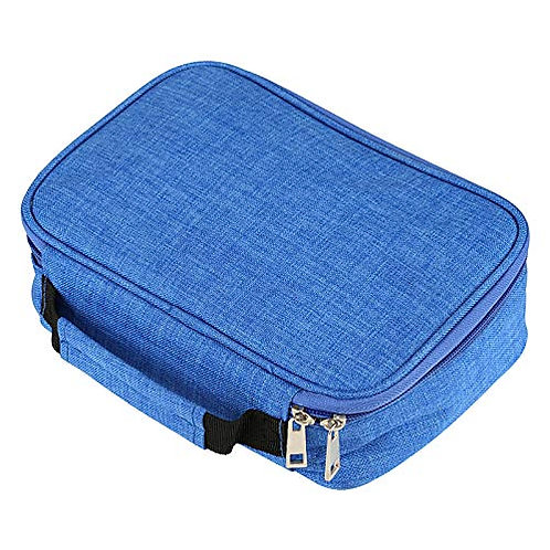 Kesote Pencil Case, Large Capacity Removable Pencil Case with Zipper for School
