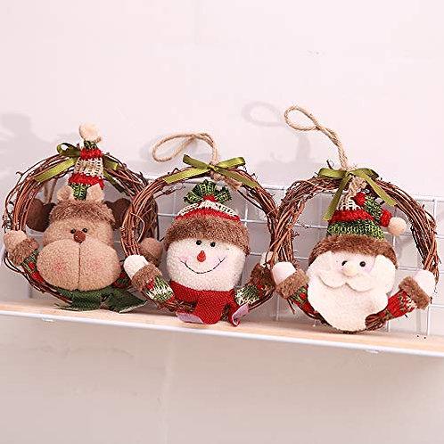 Kesote Set of 3 Christmas Tree Pendants Christmas Tree Ornaments Christmas Tree