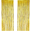 Thumbnail: Kesote 4 Pack Metallic Tinsel Curtains, Foil Fringe Shimmer Curtain Glitter Curt