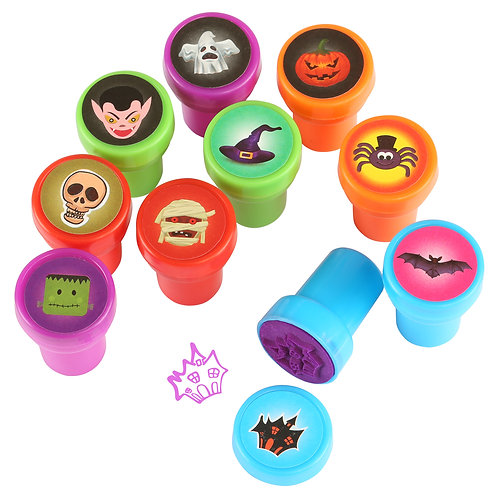 Kesote Halloween Stamps for Kids Halloween Style Multi-color Stamps Halloween T