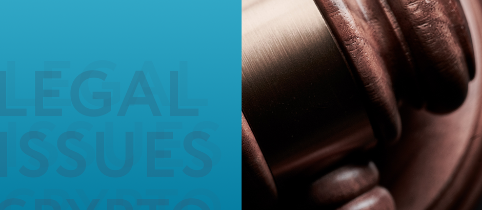Legal issues about crypto