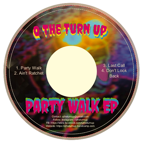 CD - Party Walk EP