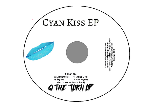 CD - Cyan Kiss EP