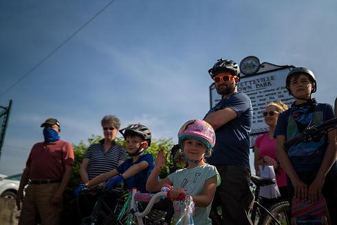 Bike walk Fayetteville Park_PC - Gabe Ca