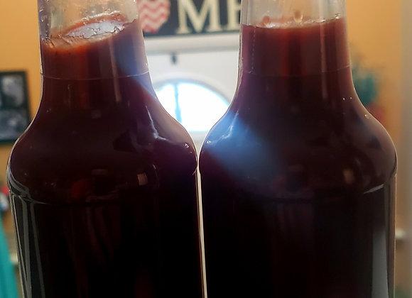 Blueberry Merlot BBQ Sauce