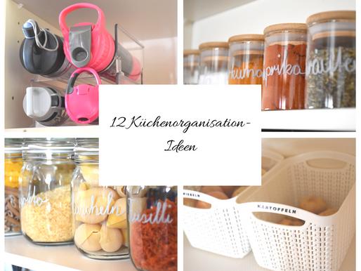 12 KÜCHENORGANISATION-IDEEN