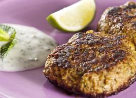 Lamb Burgers With Tzatziki Sauce