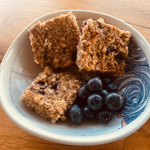 Blueberry Coconut Bars