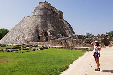 Uxmal Maya Ruins, Mexico