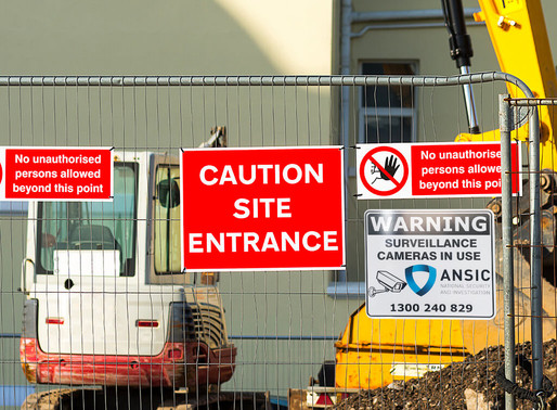 How to keep your construction site safe and secure