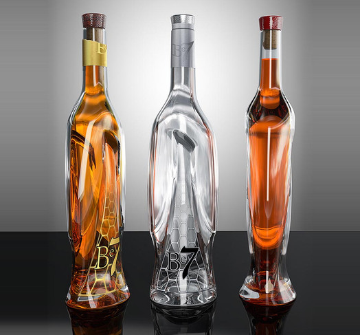 B7 bottle