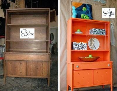 Cara nova aos móveis de madeira