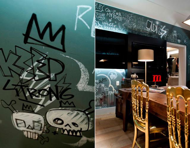 decoração estilo urbano - design de interiores urbano