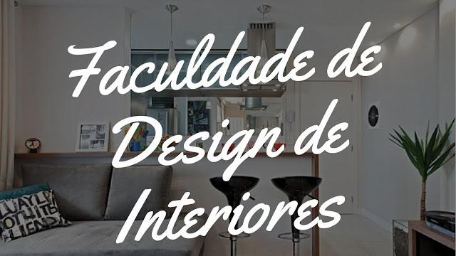curso faculdade de design de interiores
