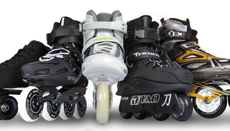 os principais modelos de patins