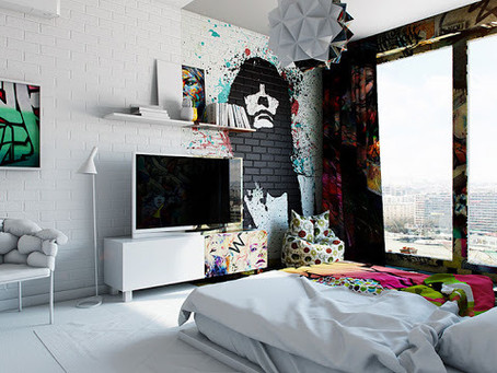 Influência urbana é tendência na decoração de ambientes