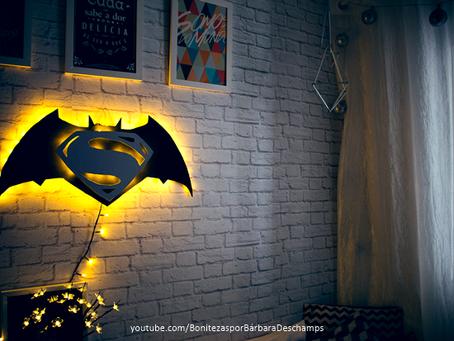 Batman X Superman | Quarto decorado