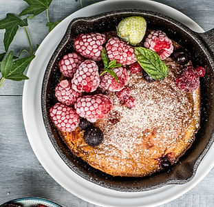 Raspberry Pancake