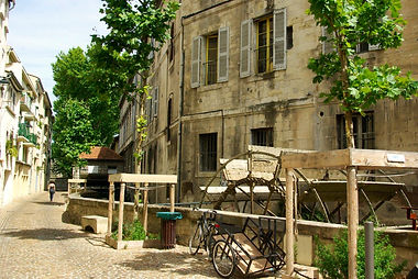 Rue des teinturiers Avignon