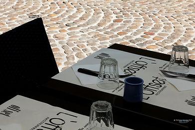 Table restaurant Avignon