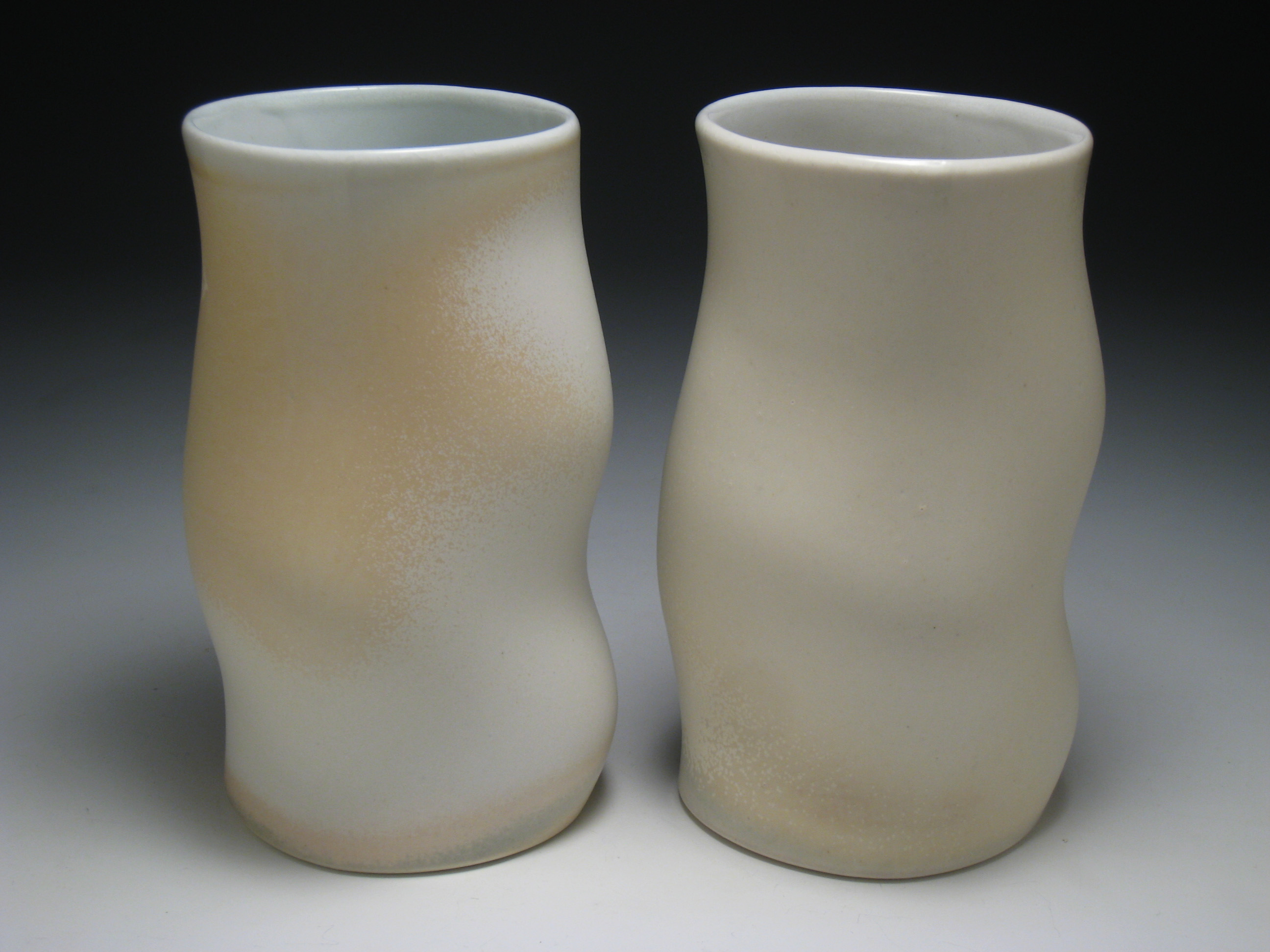 """Wave Cups, 2008, h 8"""""""