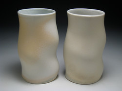 Wave Cups, 2008, h 8""