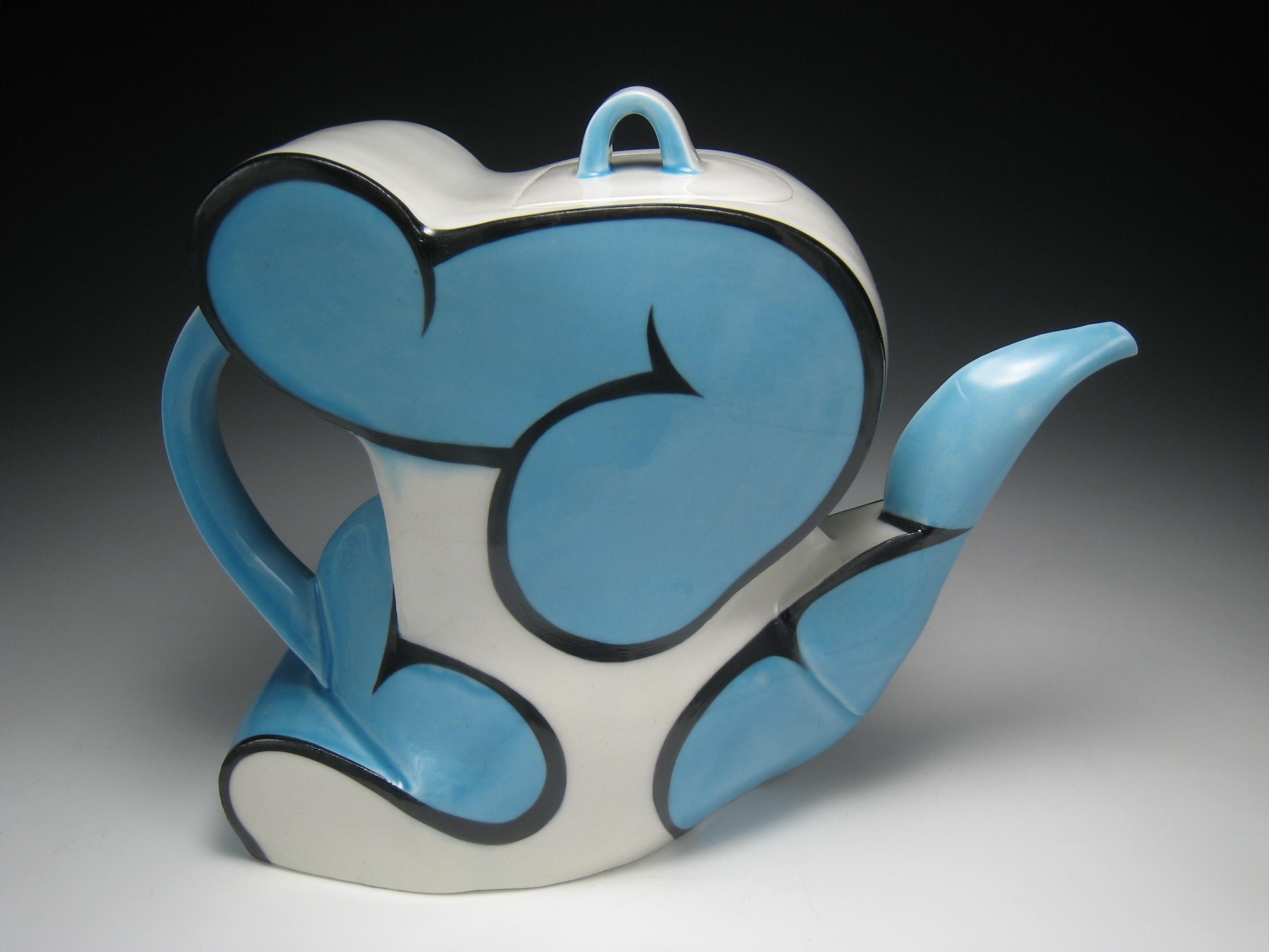 """Teapot, 2008, h 7"""""""