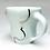 Thumbnail: Celadon Cloud Mug // Platinum / c15