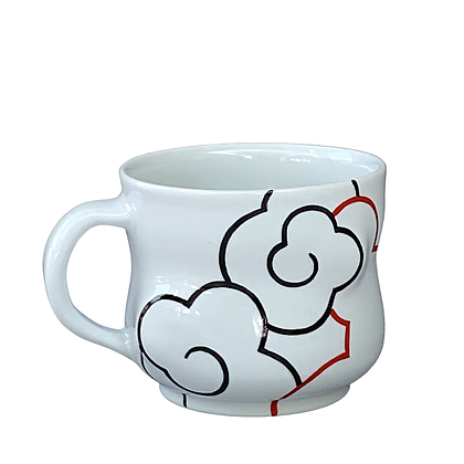 Cloud Mug // Red / #16