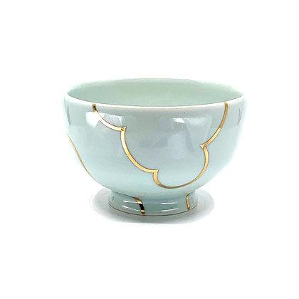 Celadon Cloud Rice Bowl #54