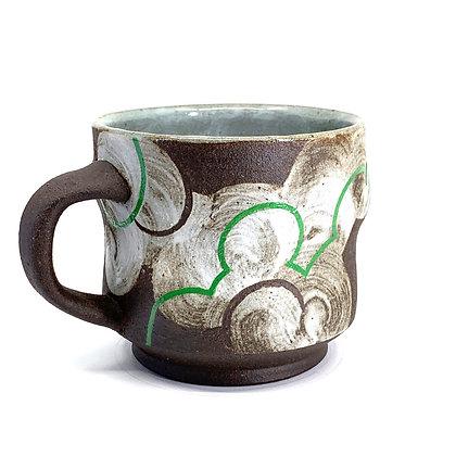 Cloud Mug // Green / #17