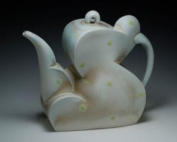 """Teapot, 2009, h 8"""""""