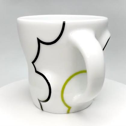 Cloud Mug // Green / p7