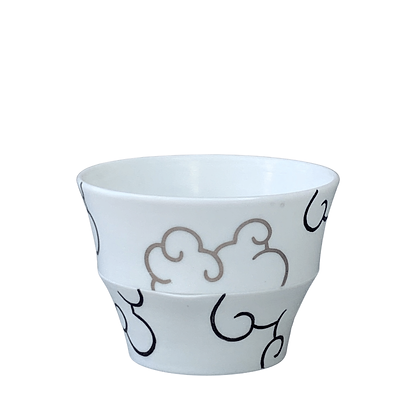 Translucent Cloud Cup // Platinum+Black / #32