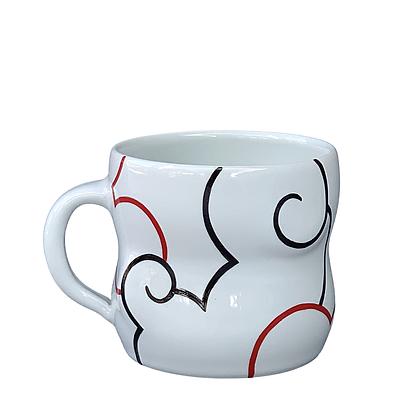 Cloud Mug // Red / #17